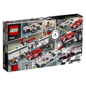 LEGO Speed Champions (75876). Porsche 919 Hybrid e 917K Pit Lane - 3