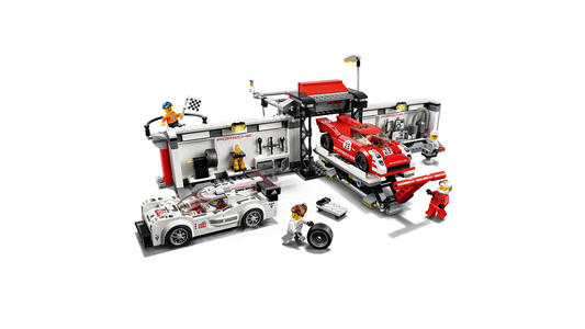 LEGO Speed Champions (75876). Porsche 919 Hybrid e 917K Pit Lane - 5