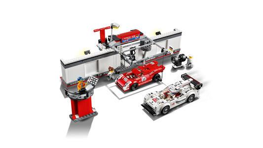LEGO Speed Champions (75876). Porsche 919 Hybrid e 917K Pit Lane - 6