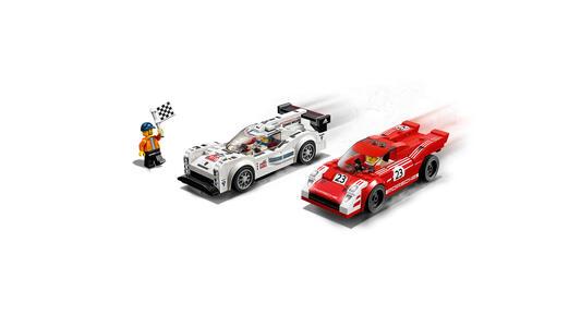 LEGO Speed Champions (75876). Porsche 919 Hybrid e 917K Pit Lane - 8