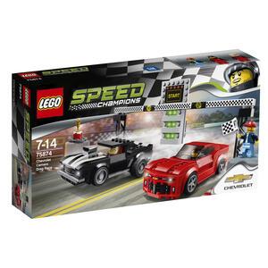 LEGO Speed Champions (75874). Gara di accelerazione Chevrolet Camaro