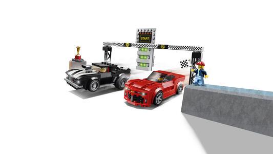 LEGO Speed Champions (75874). Gara di accelerazione Chevrolet Camaro - 5