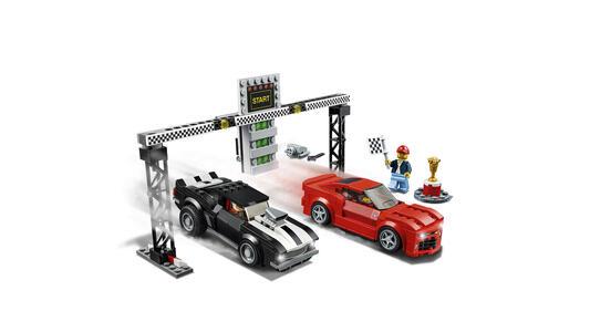 LEGO Speed Champions (75874). Gara di accelerazione Chevrolet Camaro - 6