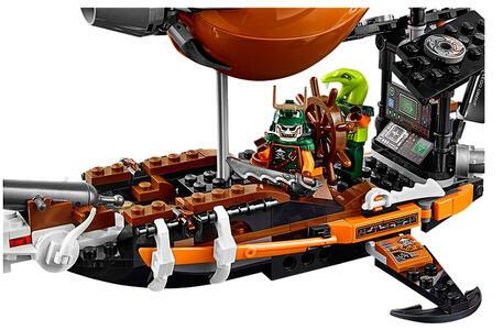 LEGO Ninjago (70603). Zeppelin d'Assalto - 5