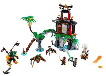 LEGO Ninjago (70604). Isola di Tiger Widow - 4