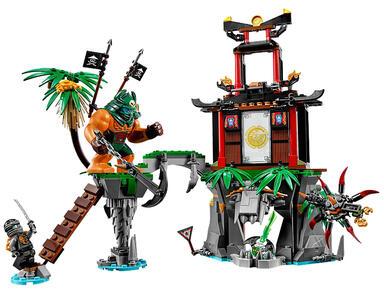 LEGO Ninjago (70604). Isola di Tiger Widow - 5