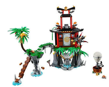 LEGO Ninjago (70604). Isola di Tiger Widow - 6