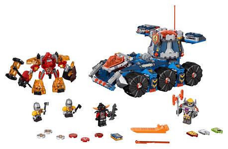 LEGO Nexo Knights (70322). Il Porta-torre di Axl - 9