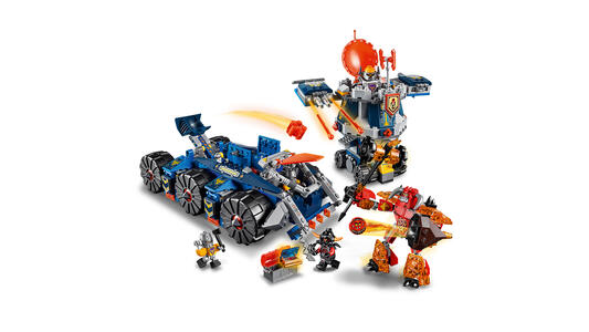 LEGO Nexo Knights (70322). Il Porta-torre di Axl - 11