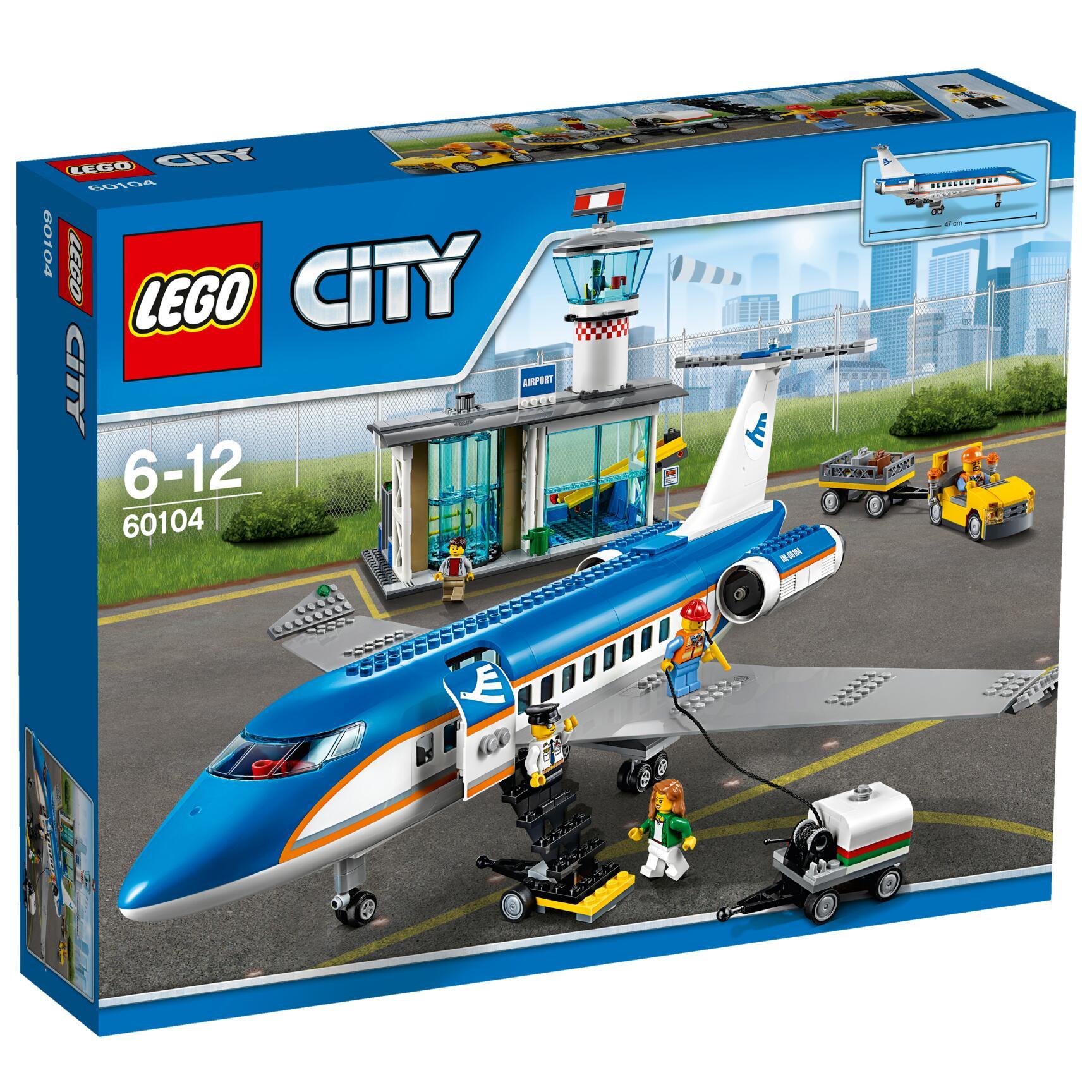 Aeroporto Lego : Lego city airport terminal passeggeri lego city