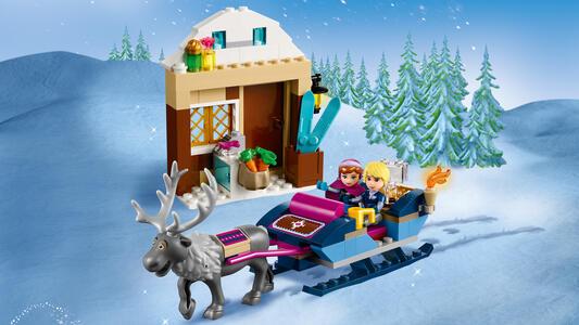 LEGO Disney Princess (41066). L'avventura sulla slitta di Anna e Krist - 21