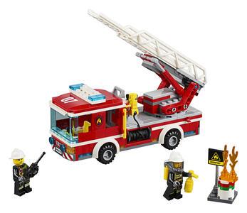 LEGO City Fire (60107). Autopompa dei vigili del fuoco - 4