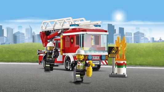 LEGO City Fire (60107). Autopompa dei vigili del fuoco - 9