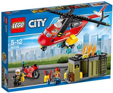 LEGO City Fire (60108). Unità di risposta antincendio - 3