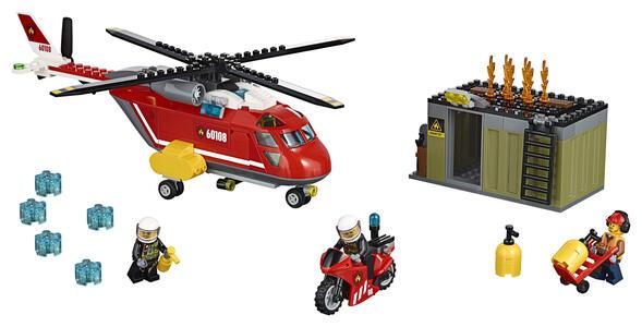LEGO City Fire (60108). Unità di risposta antincendio - 9