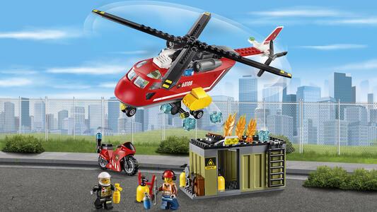 LEGO City Fire (60108). Unità di risposta antincendio - 11