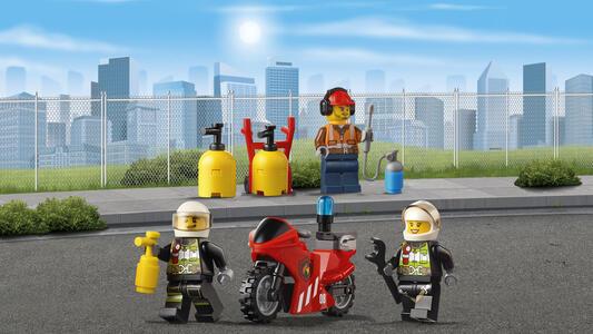 LEGO City Fire (60108). Unità di risposta antincendio - 12
