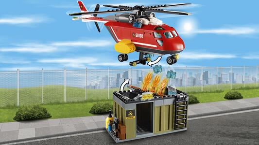 LEGO City Fire (60108). Unità di risposta antincendio - 14