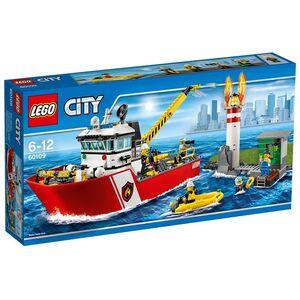 Giocattolo Lego City Fire. Motobarca antincendio (60109) Lego 0
