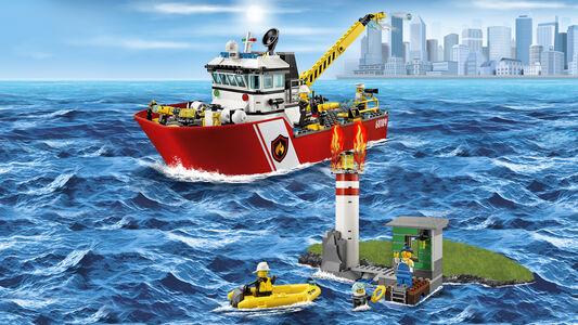 Giocattolo Lego City Fire. Motobarca antincendio (60109) Lego 2