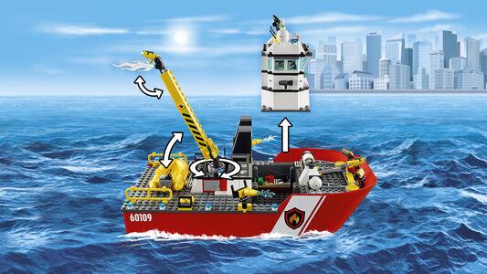 Giocattolo Lego City Fire. Motobarca antincendio (60109) Lego 5