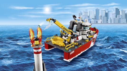 Giocattolo Lego City Fire. Motobarca antincendio (60109) Lego 6