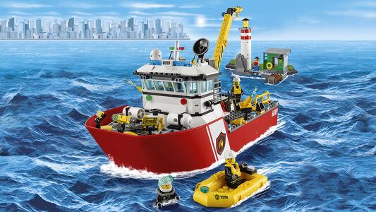 Giocattolo Lego City Fire. Motobarca antincendio (60109) Lego 8