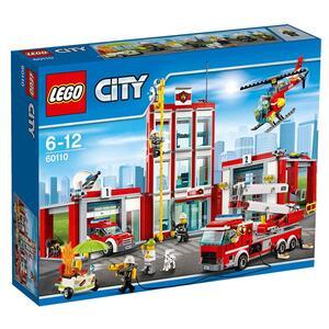 LEGO City Fire (60110). Caserma dei pompieri