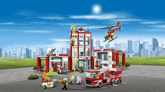 LEGO City Fire (60110). Caserma dei pompieri - 8
