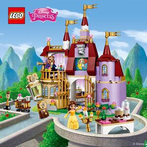 Giocattolo Lego Disney Princess. Il Castello incantato di Belle (41067) Lego 1