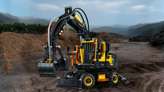 LEGO Technic (42053). Volvo EW 160E - 6