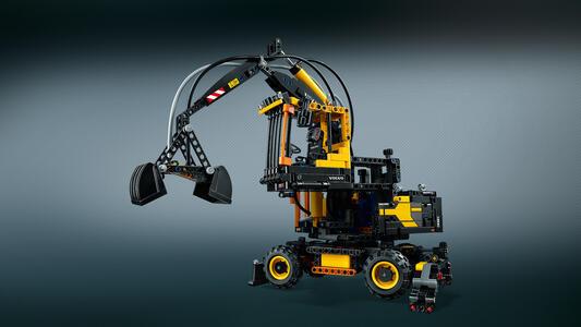 LEGO Technic (42053). Volvo EW 160E - 8