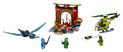 Giocattolo Lego Juniors. Il tempio perduto di Ninjago (10725) Lego 1