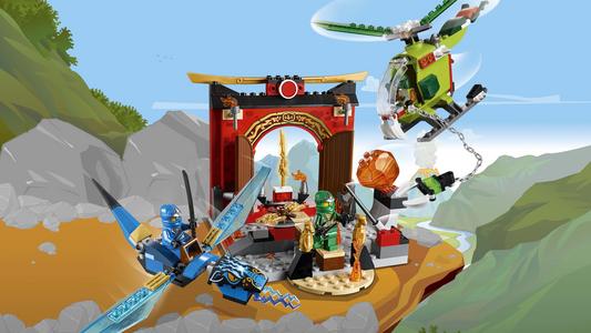Giocattolo Lego Juniors. Il tempio perduto di Ninjago (10725) Lego 3