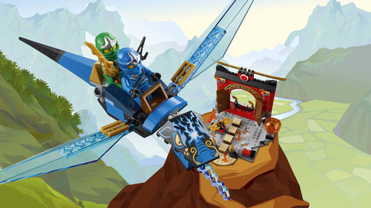 Giocattolo Lego Juniors. Il tempio perduto di Ninjago (10725) Lego 4