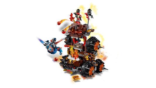 LEGO Nexo Knights (70321). Macchina d'assedio del generale Magmar - 10