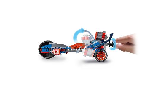 LEGO Nexo Knights (70319). La Tri-Moto Tuonante di Macy - 11
