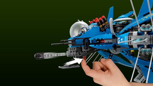 LEGO Ninjago (70614). Jet-fulmine - 8