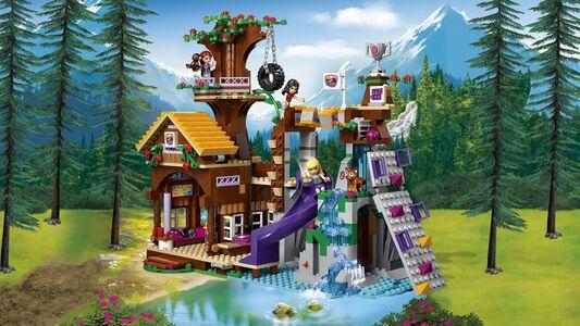 Giocattolo Lego Friends. La Casa sull'Albero al Campo Avventure (41122) Lego 3