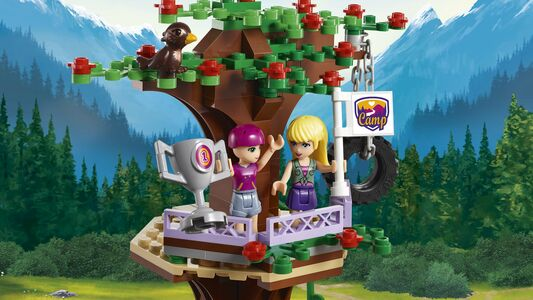 Giocattolo Lego Friends. La Casa sull'Albero al Campo Avventure (41122) Lego 4