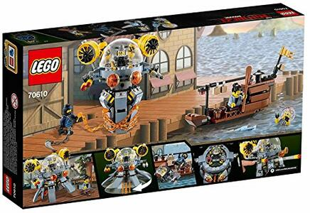 LEGO Ninjago (70610). Sottomarino Flying Jelly
