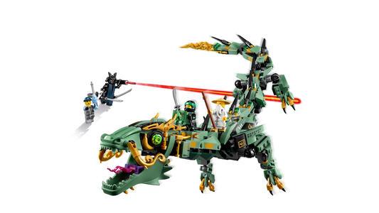 LEGO Ninjago (70612). Drago Mech Ninja verde - 15