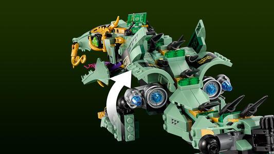 LEGO Ninjago (70612). Drago Mech Ninja verde - 16