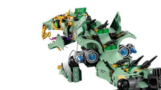 LEGO Ninjago (70612). Drago Mech Ninja verde - 17