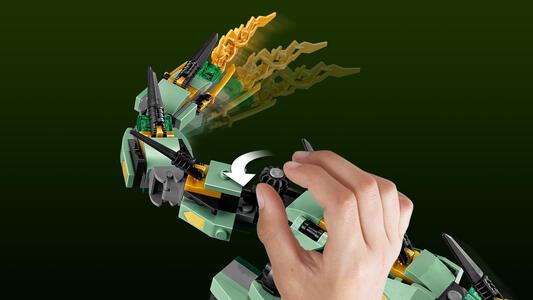 LEGO Ninjago (70612). Drago Mech Ninja verde - 18