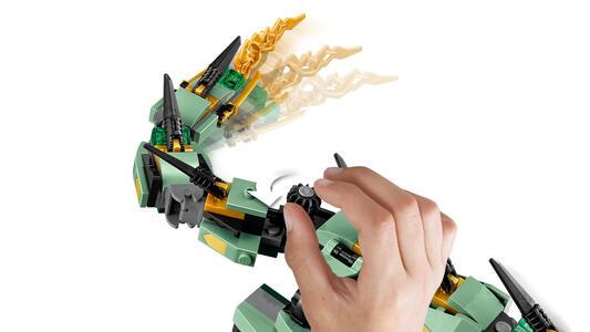 LEGO Ninjago (70612). Drago Mech Ninja verde - 19