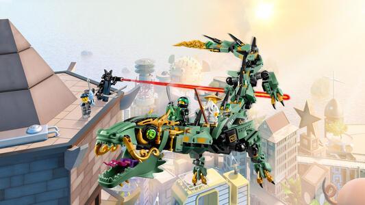 LEGO Ninjago (70612). Drago Mech Ninja verde - 8