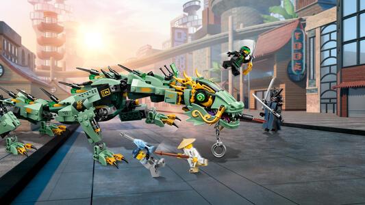 LEGO Ninjago (70612). Drago Mech Ninja verde - 9