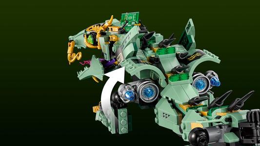 LEGO Ninjago (70612). Drago Mech Ninja verde - 10