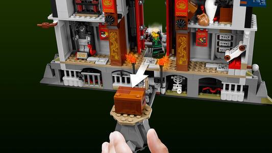 Tempio dell/'arma definitiva LEGO Ninjago-Kai da 70617
